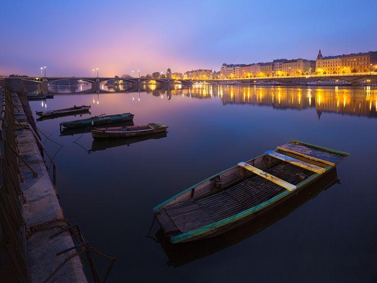 Prague Riverbank by Michal Vitásek on 500px