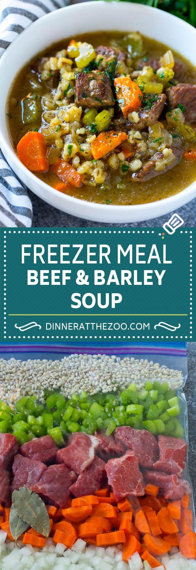 This slow cooker beef and barley soup is a hearty meal that is so simple to make.