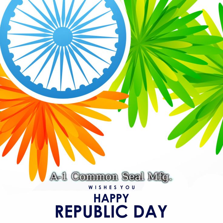 Let the colours of the Indian flag soar high this republic day, good wishes from A1 Common Seal. #republicday2018 #A1commonseal #26january #India