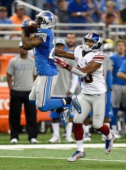Stafford, Johnson lead Detroit Lions past New York Giants 35-14 on Monday Night Football #MNF