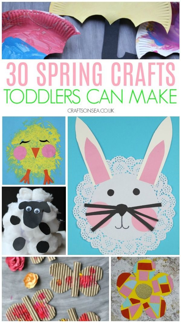 30 Easy And Fun Spring Crafts For Toddlers Spring Crafts For Kids