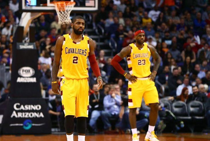 Cavs vs. Spurs: LeBron and Kyrie.