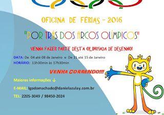 Oficina de Desenho Daniel Azulay Largo do Machado - Cursos para Crianças, adolescentes e Adultos: OFICINA DE FÉRIAS - JANEIRO DE 2016