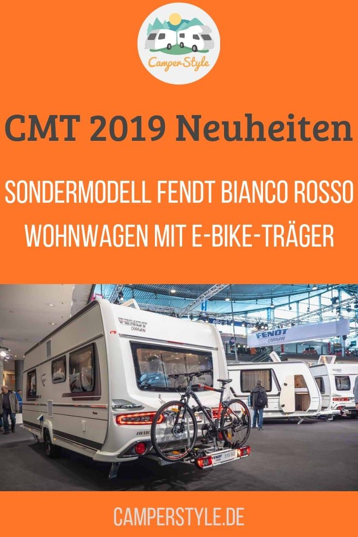 Messeneuheit Sondermodell Fendt Bianco Rosso Wohnwagen Mit E