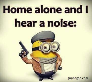 #Funny #Minion #Joke About Home Alone