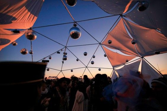 Disco Knights 2015 Burning Man on DeeplyMoved