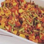 Zoete aardappelschotel met sperziebonen | Eat.Pure.Love