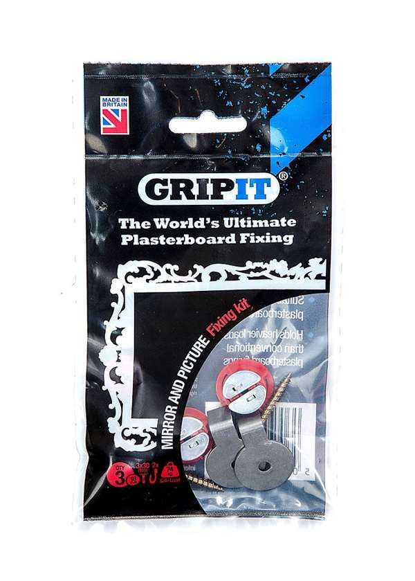 Grip-it Fixings Gripit Mirror/ Picture Kit - fixings - plasterboard fixings - Gripit Mirror/ Picture Kit - Timber, Tool and Hardware Merchants established in 1933