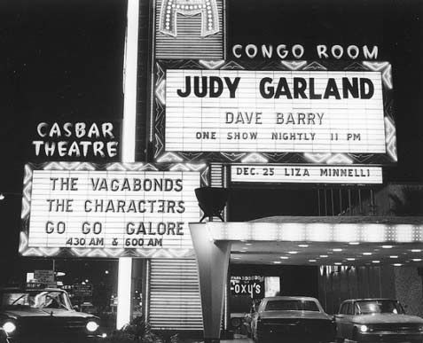 Vintage Vegas film boards