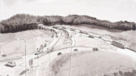 2 The Old Highway begins, Ring III, the Vuosaari tunnel