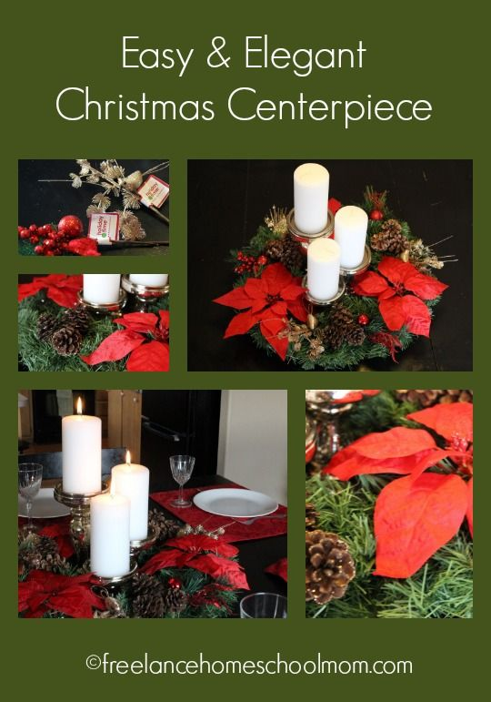 Easy Christmas Centerpiece Inspired Bloggers Network