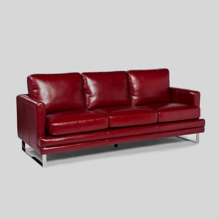 Choosing A Leather Sofa Improve Your Interior Decor With A New Couch Considering The Variety Of Models To P Leather Sofa Red Leather Sofa Cheap Leather Sofas