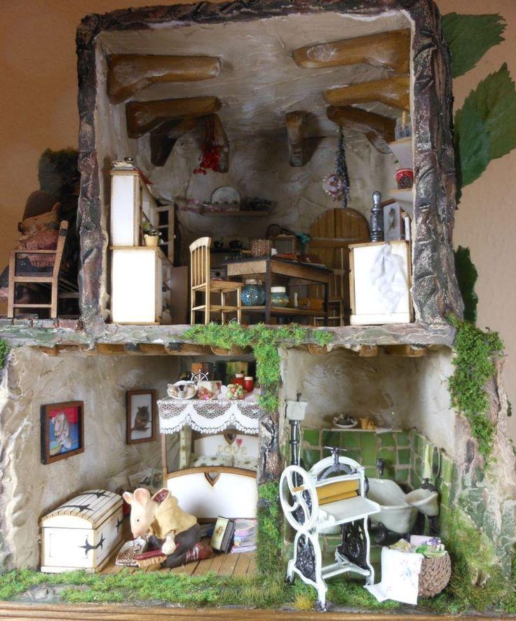 Dollhouse Miniatures Jensen: 71 Best ︎ Mouse House Images On Pinterest