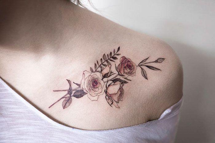 15 Tatuagens Delicadamente Belas Por Um Artista Sul-Coreano
