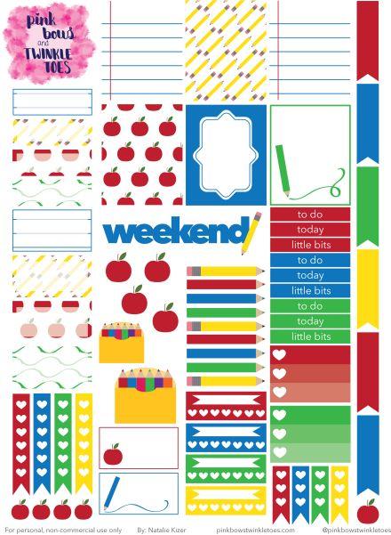 PBTT Back To School Sticker Sheet