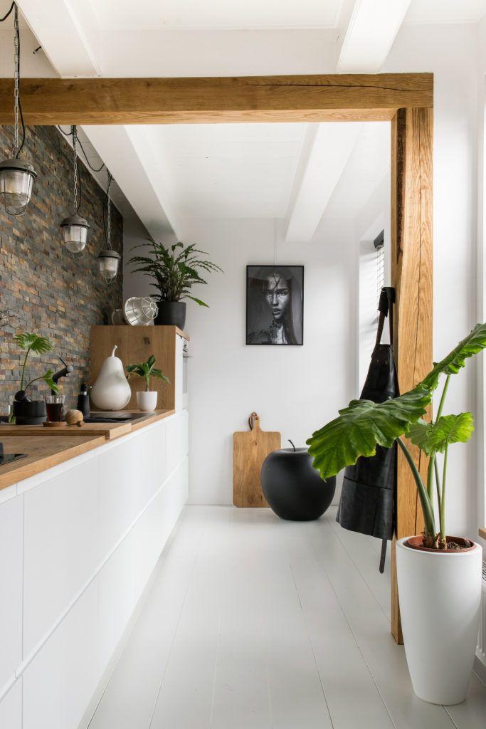 1 Una casa olandese piena di piante | Arredo interni cucina ...