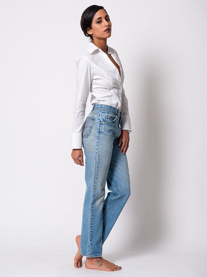 Which+Vintage+Levi's+Jeans+Cut+Is+the+Most+Flattering+for+YOUR+Body?+via+@WhoWhatWear