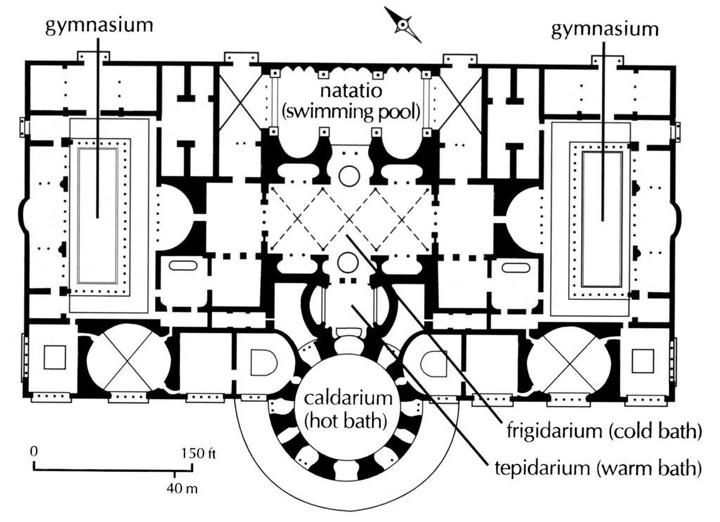 12 best bath house thermae images – Roman Bath House Floor Plan