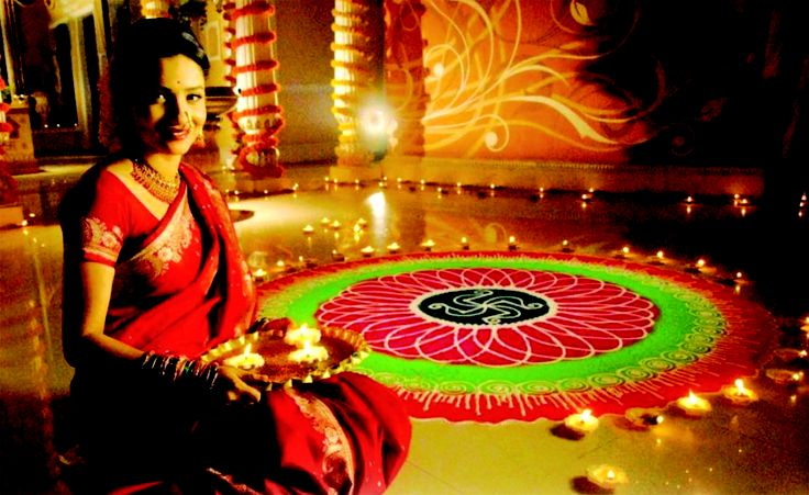 """Deepavali , popularly known as the """"festival of lights,"""" is a five-day Hindu festival.which starts on Dhanteras, celebrated on the thirteenth lunar day of Krishna paksha (dark fortnight) of the Hindu calendar month Ashwin and ends on Bhaubeej, celebrated on second lunar day of Shukla paksha (bright fortnight) of the Hindu calendar month Kartik. Dhanteras usually falls eighteen days after Dussehra. In the Gregorian calendar, Diwali falls between mid-October and mid-November."""