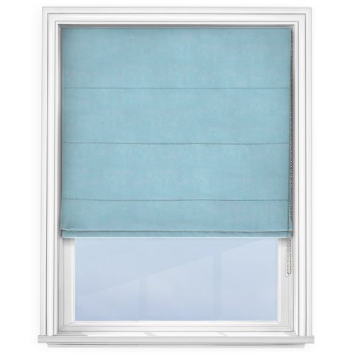 Touched by Design Accent Sky Roman Blind