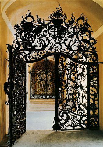 Fazola gate in Eger, Hungary