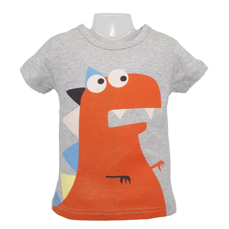 >> Click to Buy << 1-6Y Boys Girls T-shirt Kids Tees Baby Boy Girl shirts cardigan blouse Children Short Sleeve Cotton Cartoon Dinosaur Monkey #Affiliate