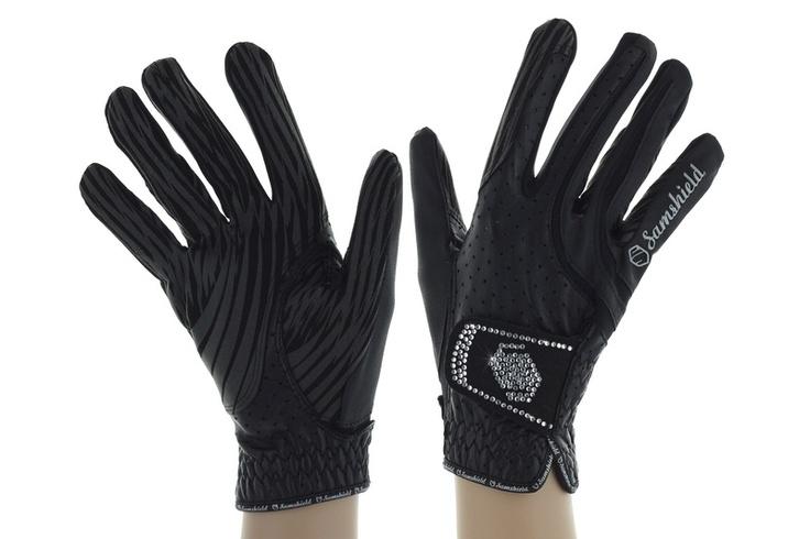 Samshield gloves with cristals  www.iconadeironchi.com
