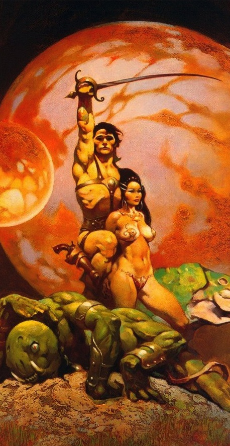 John Carter of Mars (by Frank Frazetta)