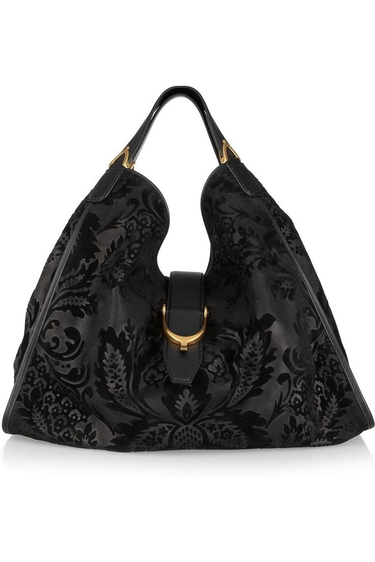 GucciGucci Bags, Su Totes, Gucciawesom Handbags, Gucci Handbags, Suede Totes, Gucci Awesome Handbags, Flock Suede, Hobo Bags, Gucci Flock