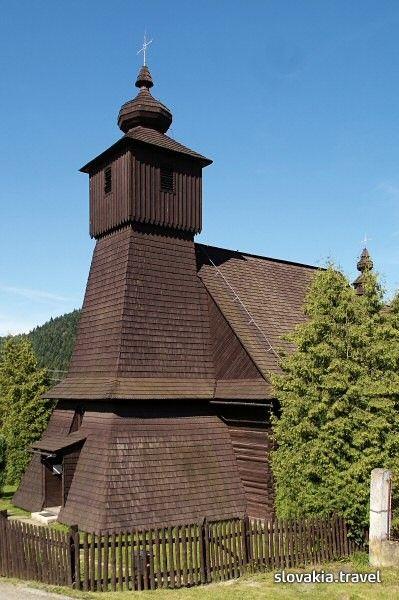 Slovakia, Hraničné - Wooden church