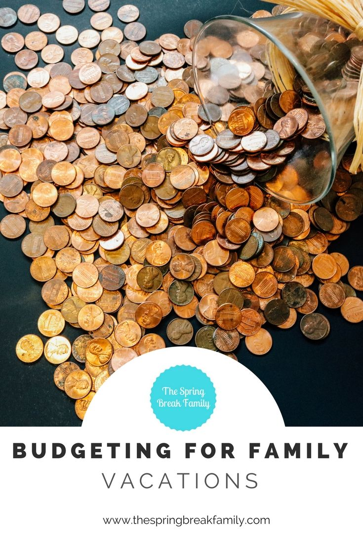 How to budget for family vacations -- international or domestic!