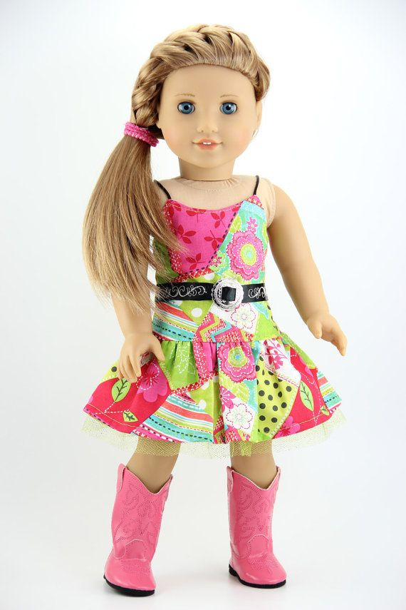 American Girl doll clothes  Western style by DolliciousClothes, $12.00