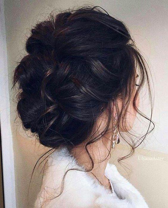 wedding updo hairstyle via UlyanaAster / http://www.himisspuff.com/beautiful-wedding-updo-hairstyles/