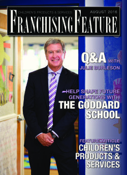 Click inside to learn how franchisees can Help Shape Future Generations by Franchising with The Goddard School®