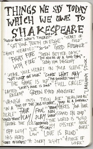 Let's be honest... we owe EVERYTHING to Shakespeare.