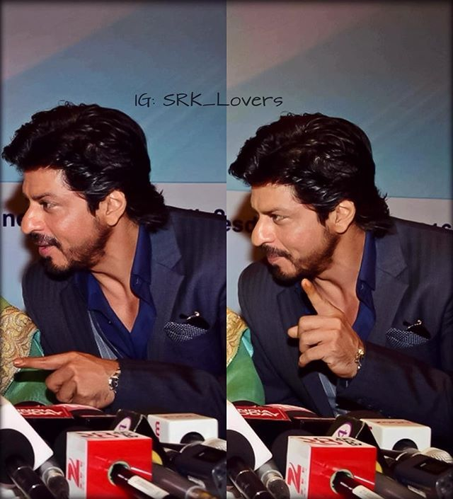 SRK at Movers & Makers book launch yesterday. ❤️