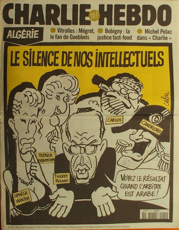 Charlie Hebdo - # 241 - 29 Janvier 1997 - Couverture : Cabu