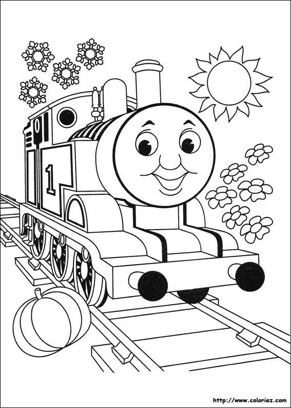 Thomas La Petite Locomotive Train Coloring Pages Coloring Books Free Coloring Pages