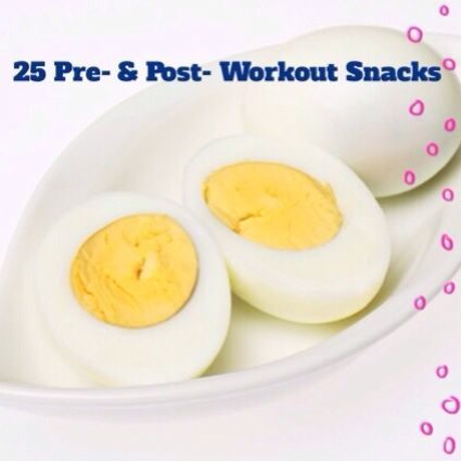 25 of The Best Pre and Post Workout Snacks :: Whitney DeLong - Fitness & Nutrition