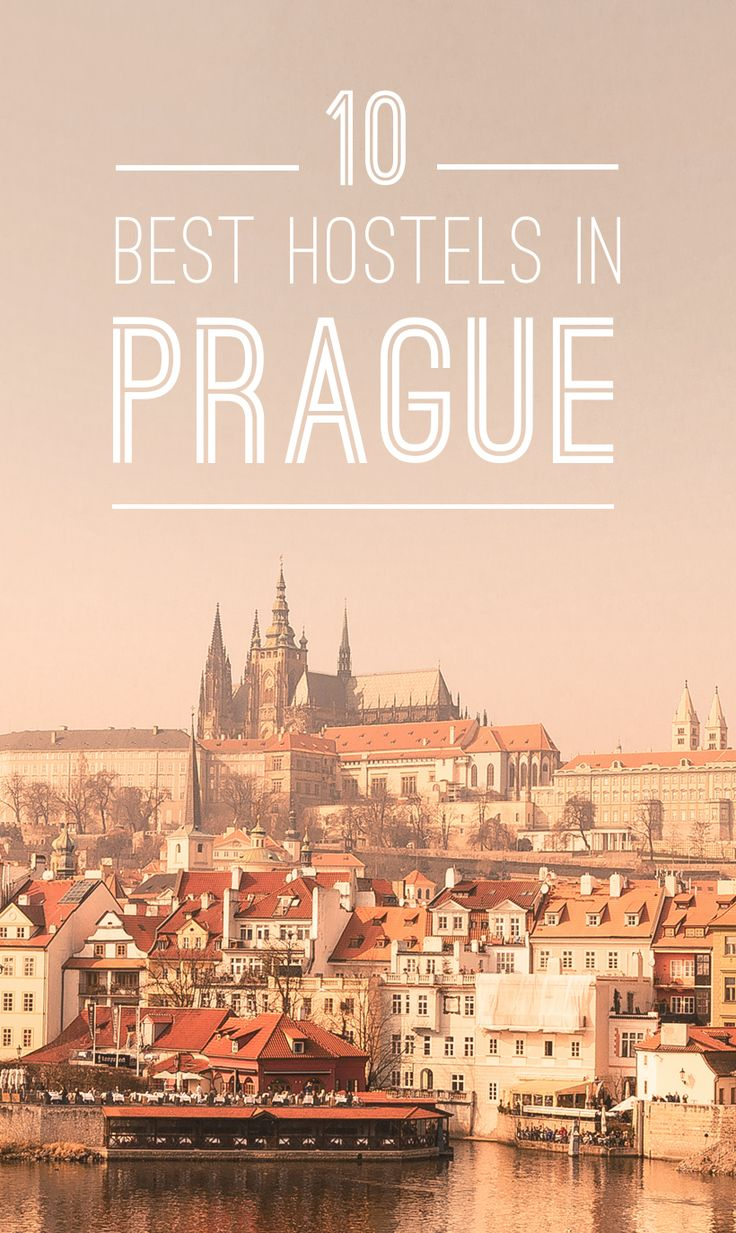 Traveling on a budget? Check out our list of the best hostels in Prague!