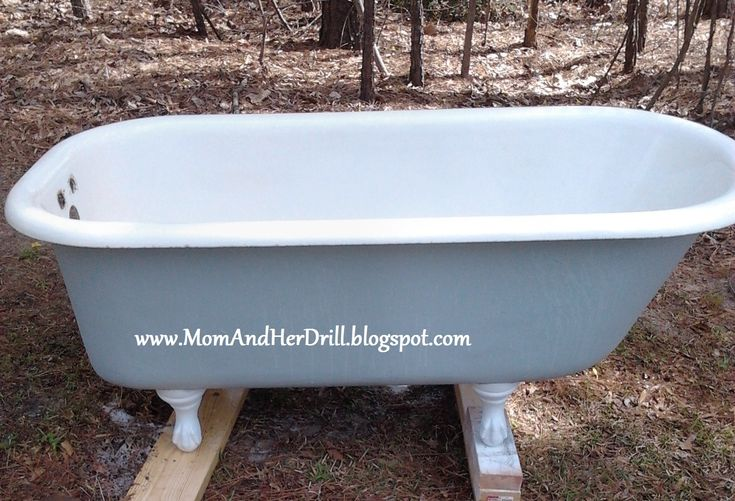 Painted Tub And Remember The Vintage Sink I Was Working