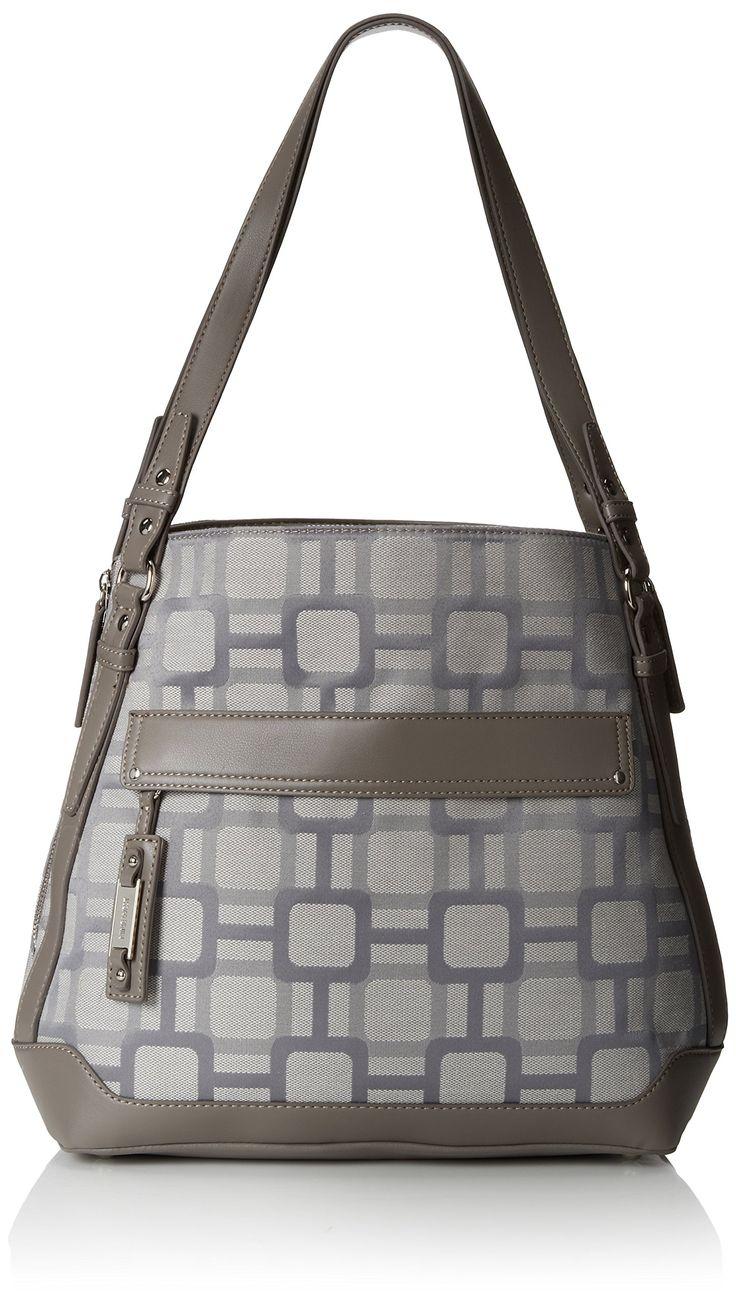 Sling bag nine west - Nine West Mini Vegas Signs Large Tote Handbag Ash Charcoal One Size