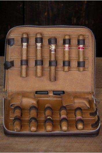 Riverton Leather Cigar Case - Buffalo Jackson