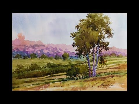 The 25+ best Watercolor landscape tutorial ideas on Pinterest ...
