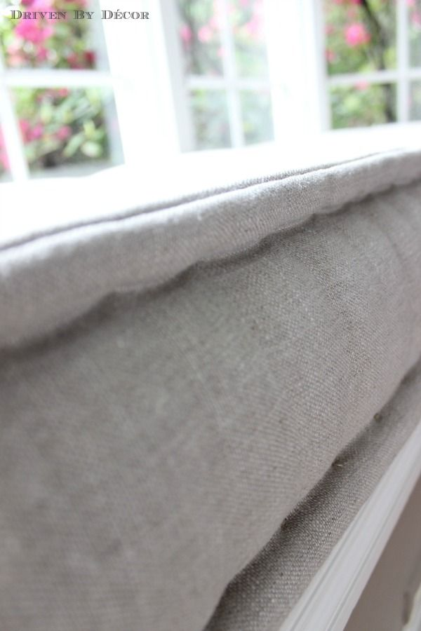 Our French Mattress Style Window Seat Cushion - Driven by Decor