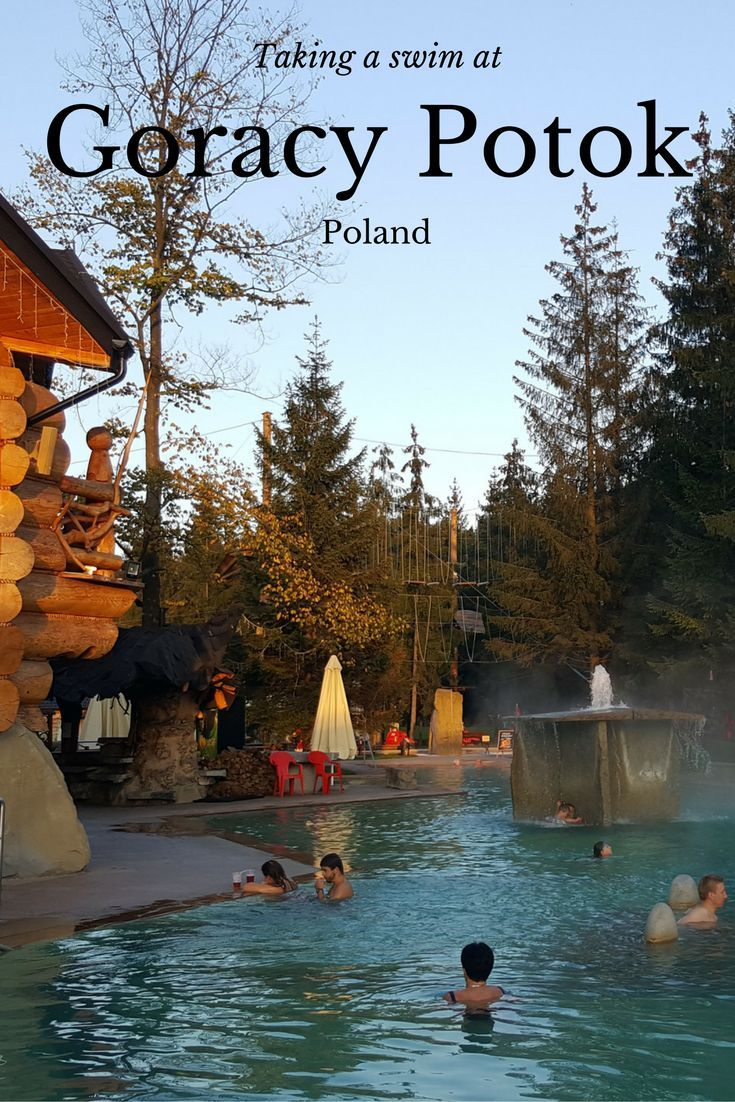 Whilst in Zakopane in the heart of the Polish Tatra Mountain region in the south of the country, after a day of hiking there are a couple of ways to unwind and relax. For us it was a trip to the nearby thermal baths at Gorący Potok, located in the village of Kuny, about a ten-fifteen minute drive northwards (on the main road to Krakow) from central Zakopane.