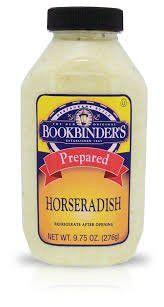 Bookbinders Prepared Horseradish 9.75 OZ (Pack of 3)