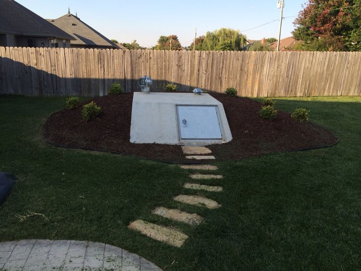 16 best landscape ideas for storm shelters images on for Landscaping rocks kansas city mo