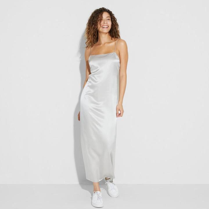 Abbot Satin Slip Dress