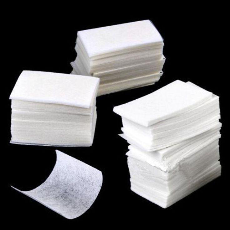 high quality 400pcs/set Nail Art wipe Manicure Polish gel nail Wipes Cotton Lint Cotton Pads Paper Acrylic Gel Tips
